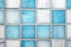 Multicolored tiles background Stock Images