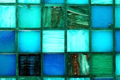 Multicolored tiles background Royalty Free Stock Photography