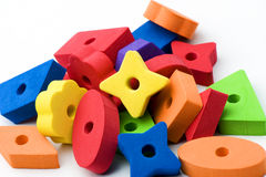 Multicolored toys 2 Royalty Free Stock Photo