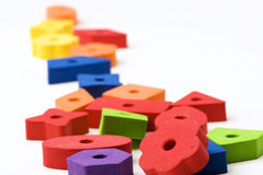 Multicolored toys 6 Royalty Free Stock Photography