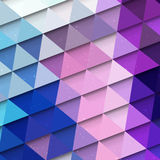 Multicolored triangle background Royalty Free Stock Photos