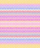 Multicolored triangular background. Seamless pattern Royalty Free Stock Photo