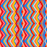 Multicolored tribal pattern Stock Image