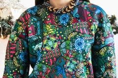Multicolored trui Stock Foto