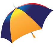 Multicolored umbrella Stock Images