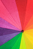 Multicolored umbrella Royalty Free Stock Photography
