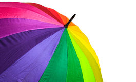 Multicolored umbrella Stock Photography