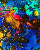 Multicolored universe collection, a piece of abstract art with fine details. royalty free stock photography