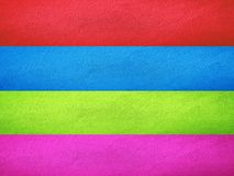 Multicolored van muur stock foto's