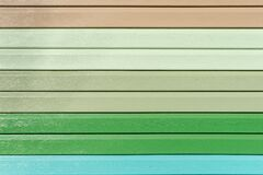 Free Multicolored Vinyl Siding With Simulated Wood Texture. Plastic Wall Covering For Exterior Decoration Of House. Abstract Background Royalty Free Stock Photo - 179712295