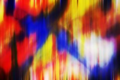 Multicolored blurred shapes, geometries, abstract creative background. Multicolored vivid sky like forms, liquid fluid blurred geometries on colorful background Stock Image