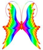 Multicolored vlinder Royalty-vrije Stock Foto