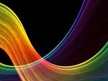 Multicolored vorming royalty-vrije illustratie
