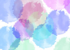Multicolored watercolor. Stock Photos