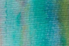 Multicolored waterverftextuur en achtergrond Abstracte acryl geschilderde achtergrond voor ontwerp Stock Afbeeldingen