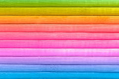 Multicolored wood background. Wooden background from multicoloured boards Stock Photography