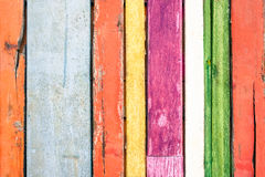 Multicolored wood background and alternative material Royalty Free Stock Image