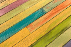 Multicolored wood Background - Vintage texture Stock Photo