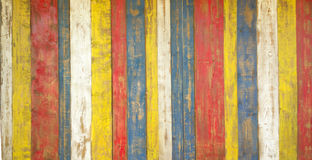 Multicolored wood boards. For wall Stock Photo