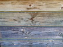 Multicolored wood texture. Beautiful multicolored wooden texture. Photo taken on July 24th, 2016 Stock Photography