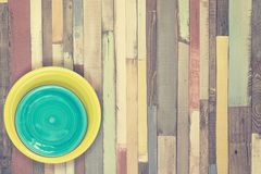 Multicolored wooden background Royalty Free Stock Photos
