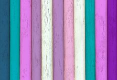 Multicolored Wooden Texture stock photo
