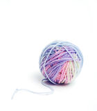 Multicolored wool yarn skein Stock Images