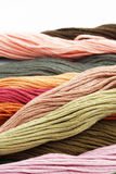 Multicolored yarn Stock Photography