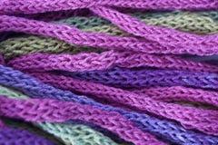 Multicolored yarn Royalty Free Stock Photo