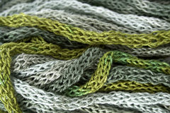 Multicolored yarn Stock Photos