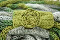 Multicolored yarn Royalty Free Stock Photography