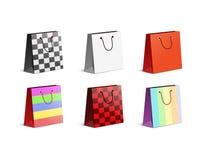 Multicolored zakken royalty-vrije illustratie