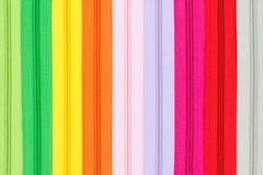 Multicolored zippers Royalty Free Stock Photo