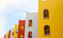 Multicolorful building. An image of a multicolorful building stock photography