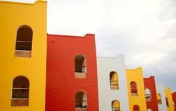 Multicolorful building Stock Photography