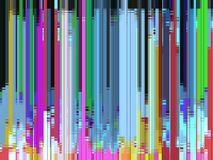Multicolors Abstract Digital background, vertical lines royalty free illustration