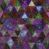 Multicolors triangle background effect stained glass. Multicolors background effect stained glass Stock Photo