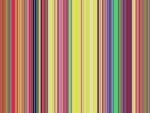 Multicolors vertical lines, warm colors, yellow royalty free illustration