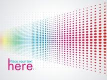 multicolour bakgrundsraster Arkivbild