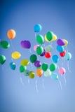 Multicolour balloons Stock Photography