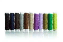 Multicolour bobbins Stock Image