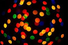 Multicolour bokeh Royalty Free Stock Photography