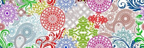 Multicolour digitala tegelplattor planlägger för inre, badrum, och caremic väggtegelplattor planlägger, bakgrund, illustrationen, royaltyfri illustrationer