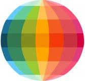 Multicolour globe Stock Image