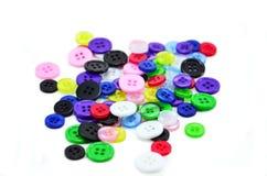 Multicolour guziki Zdjęcie Stock