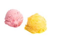 Multicolour ice cream isolated Royalty Free Stock Image