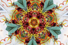 Multicolour kaleidoscope Royalty Free Stock Photo