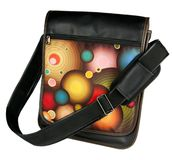 Multicolour Messenger bag Royalty Free Stock Images