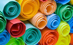 Multicolour papers Royalty Free Stock Image