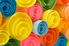 Multicolour papers Royalty Free Stock Images